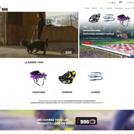I-Dog - Harnais pour chiens - Sport canins